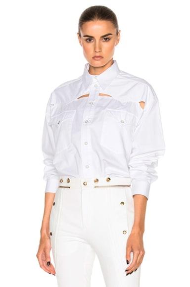 Oversized Button Down Shirt