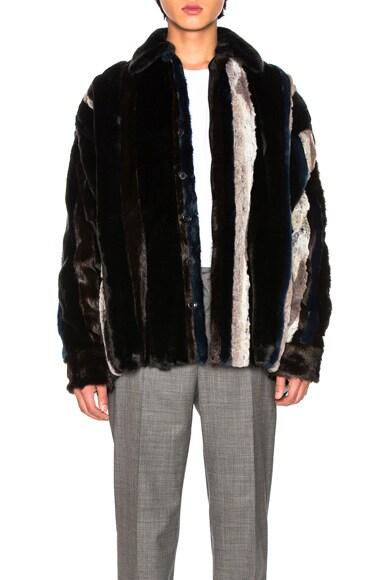 Faux Fur Shirt