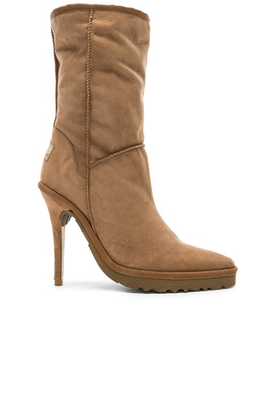 Sheepskin Ugg Ankle Boot