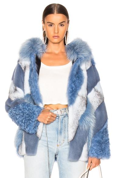 Lamb, Fox & Mink Fur Toscana Jacket
