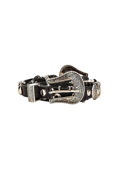 Leather Metal Belt
