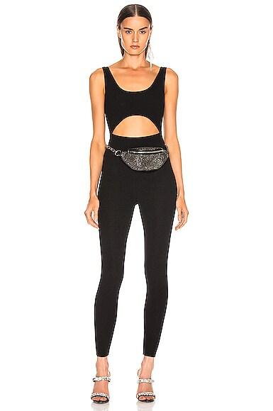 Knit Full Jumpsuit