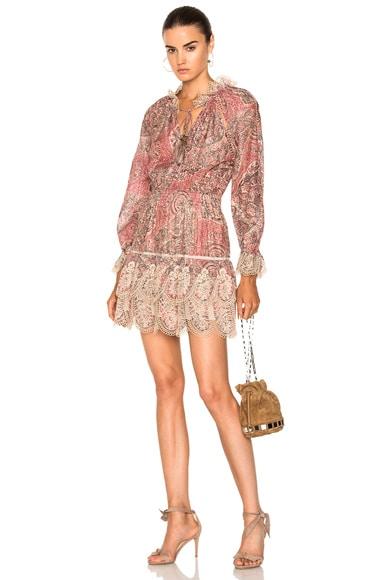 Tulsi Paisley Mini Dress