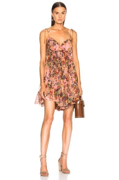 Lovelorn Frill Mini Dress by Zimmermann