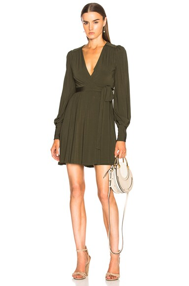 Breeze Wrap Mini Dress