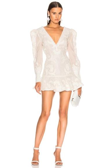 Sunny Applique Flip Dress