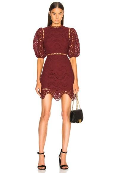 Jaya Wave Short Dress