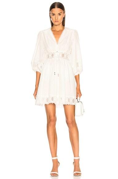 Iris Corset Waist Dress