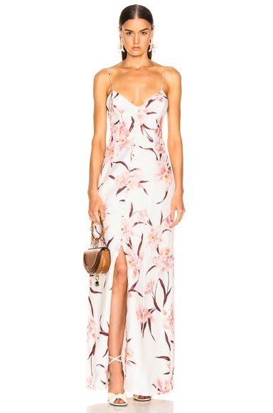 Corsage Slip Dress
