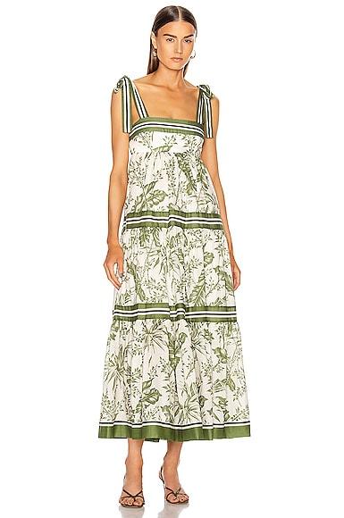 Empire Shoulder Dress
