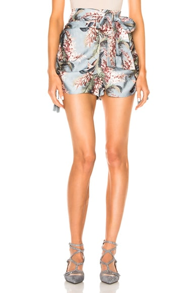 Winsome Ruched Short