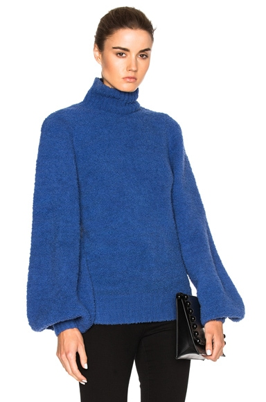 Adorn Slouch Poloneck Sweater