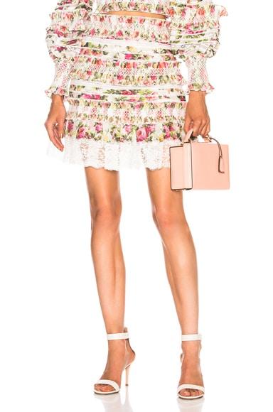 Sunny Smocked Skirt