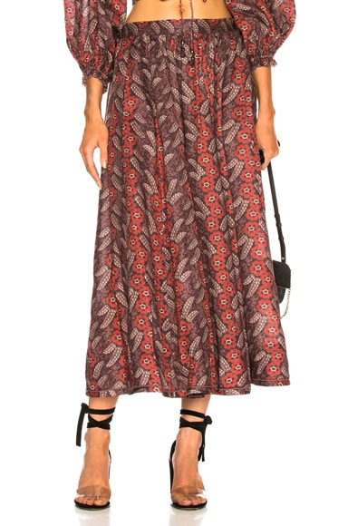 Bayou Draw Flare Skirt
