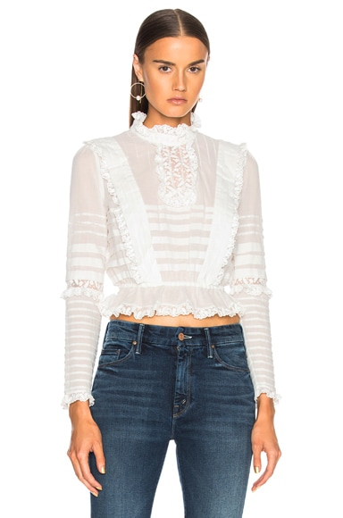 Helm Layered Frill Top