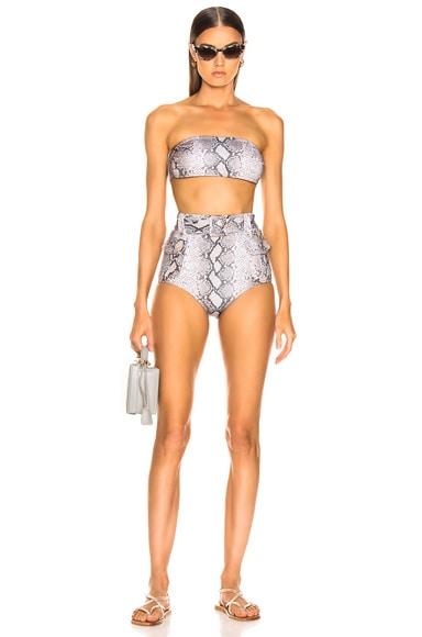 Corsage Safari Bikini Set