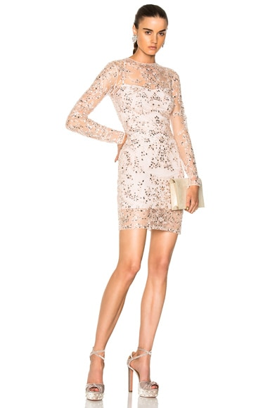 Beaded Mini Dress