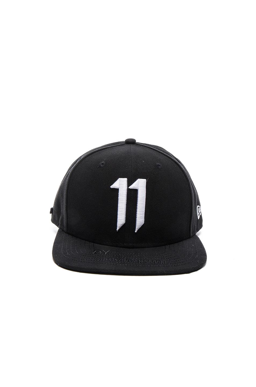 Image 1 of 11 by Boris Bidjan Saberi 11 Logo Cap in Black   White ee9c25f5eeb4