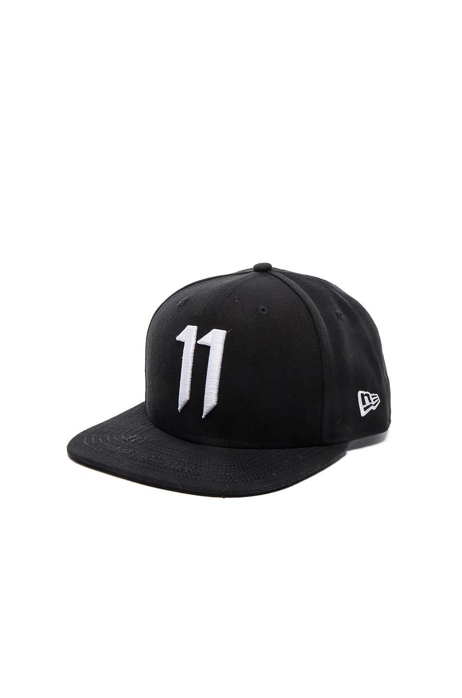 Image 2 of 11 by Boris Bidjan Saberi 11 Logo Cap in Black   White 05e02288d580