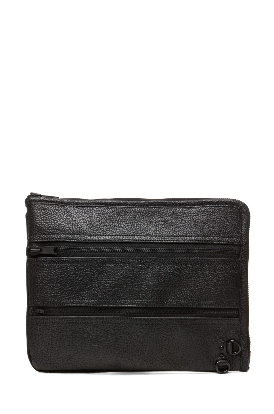 Image 1 of 3.1 phillip lim Multi Zip Exchange Folio in Black