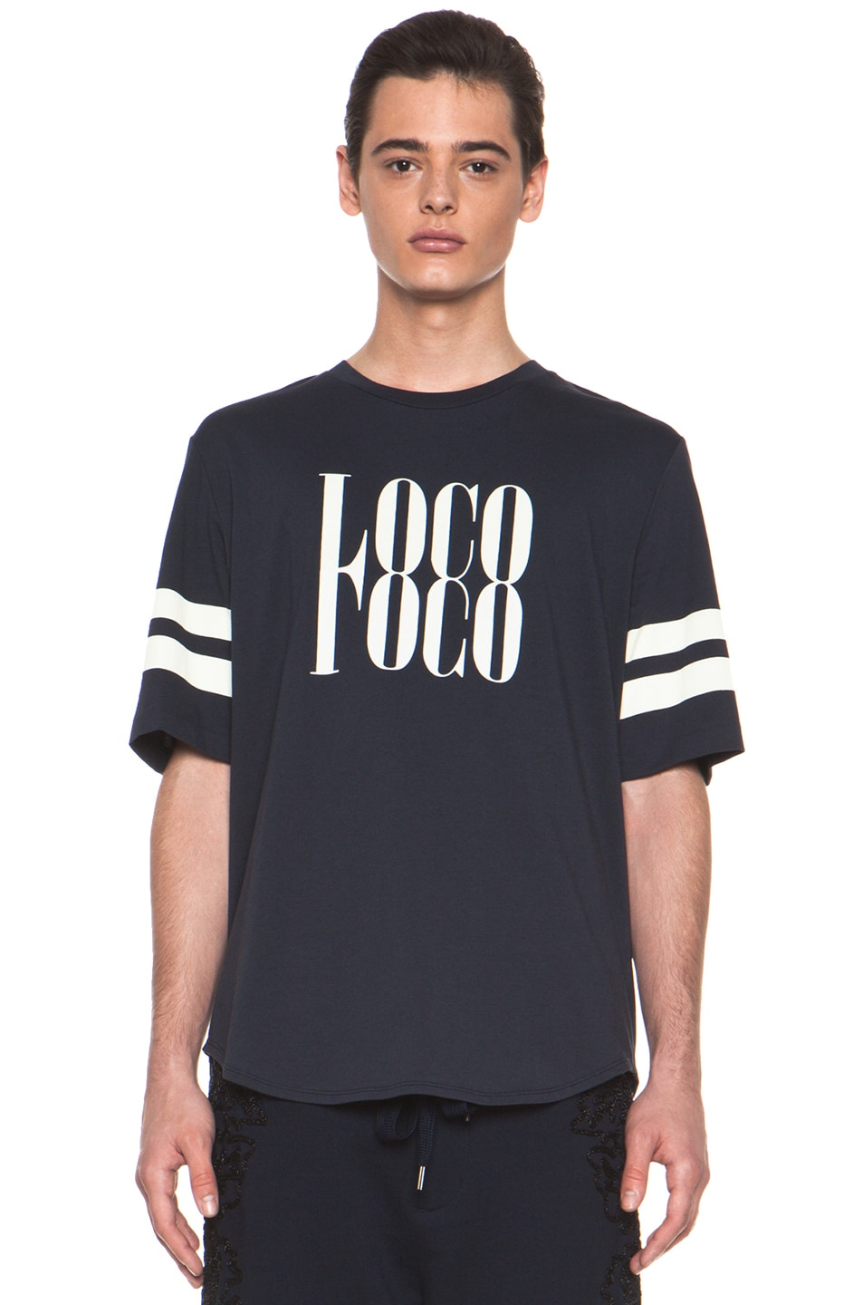Image 1 of 3.1 phillip lim 'Loco' Tee in Midnight