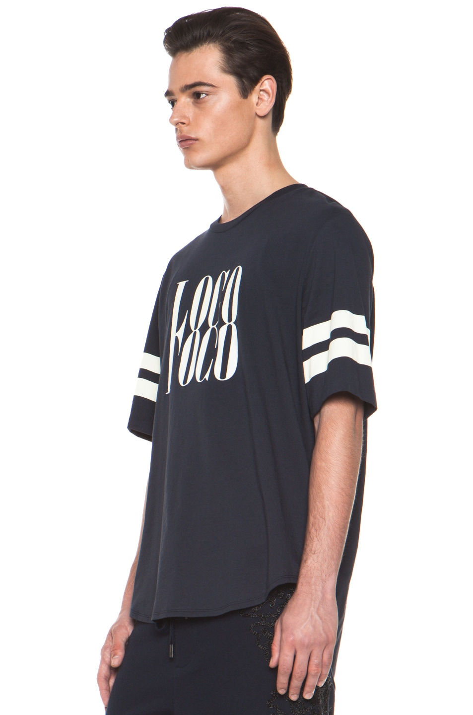 Image 2 of 3.1 phillip lim 'Loco' Tee in Midnight
