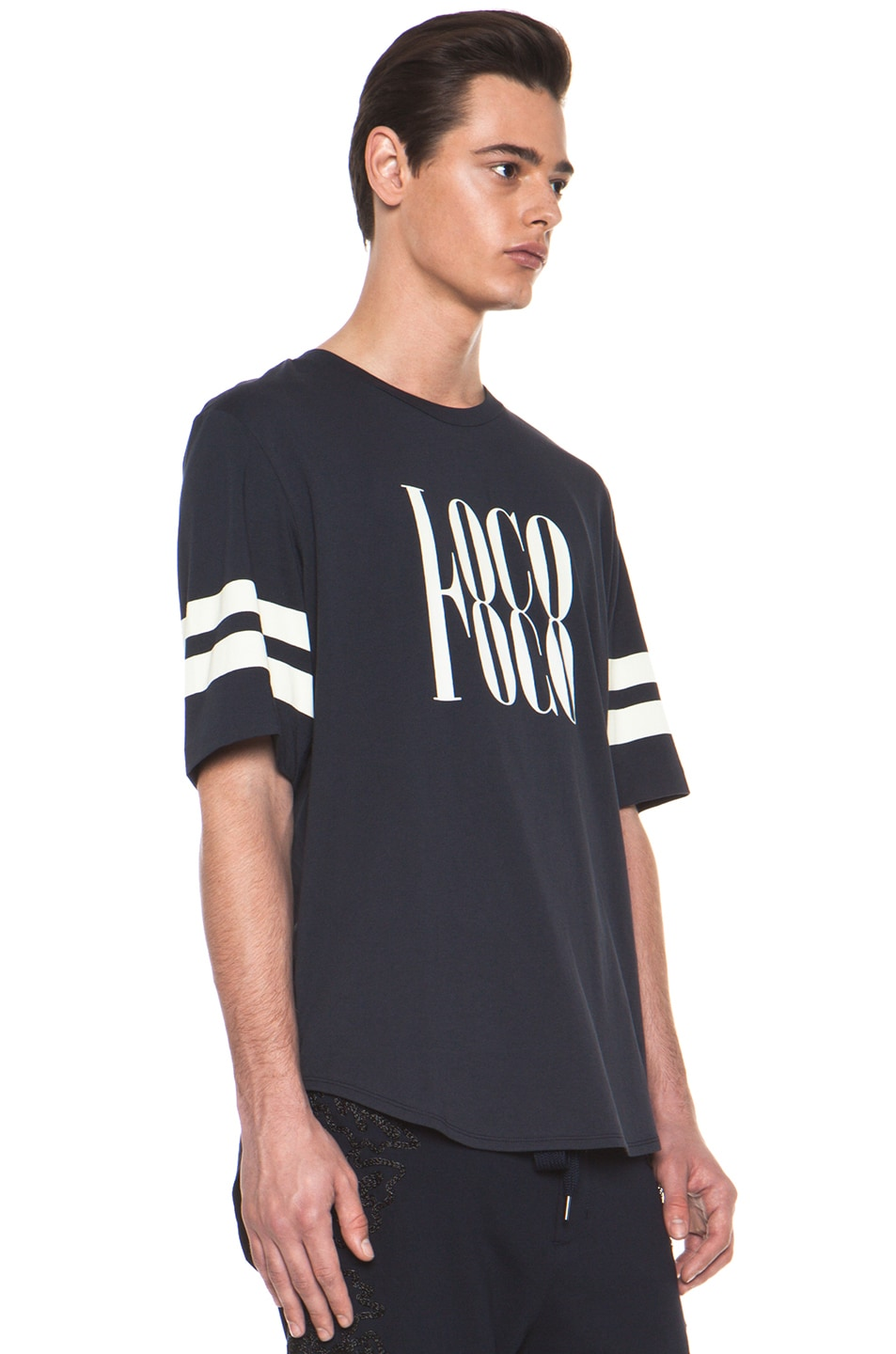 Image 3 of 3.1 phillip lim 'Loco' Tee in Midnight