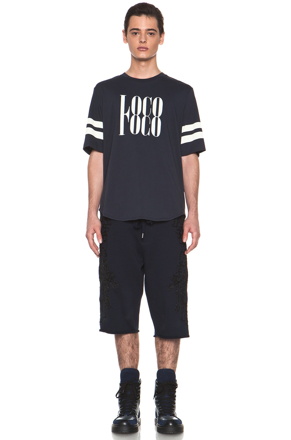 Image 5 of 3.1 phillip lim 'Loco' Tee in Midnight