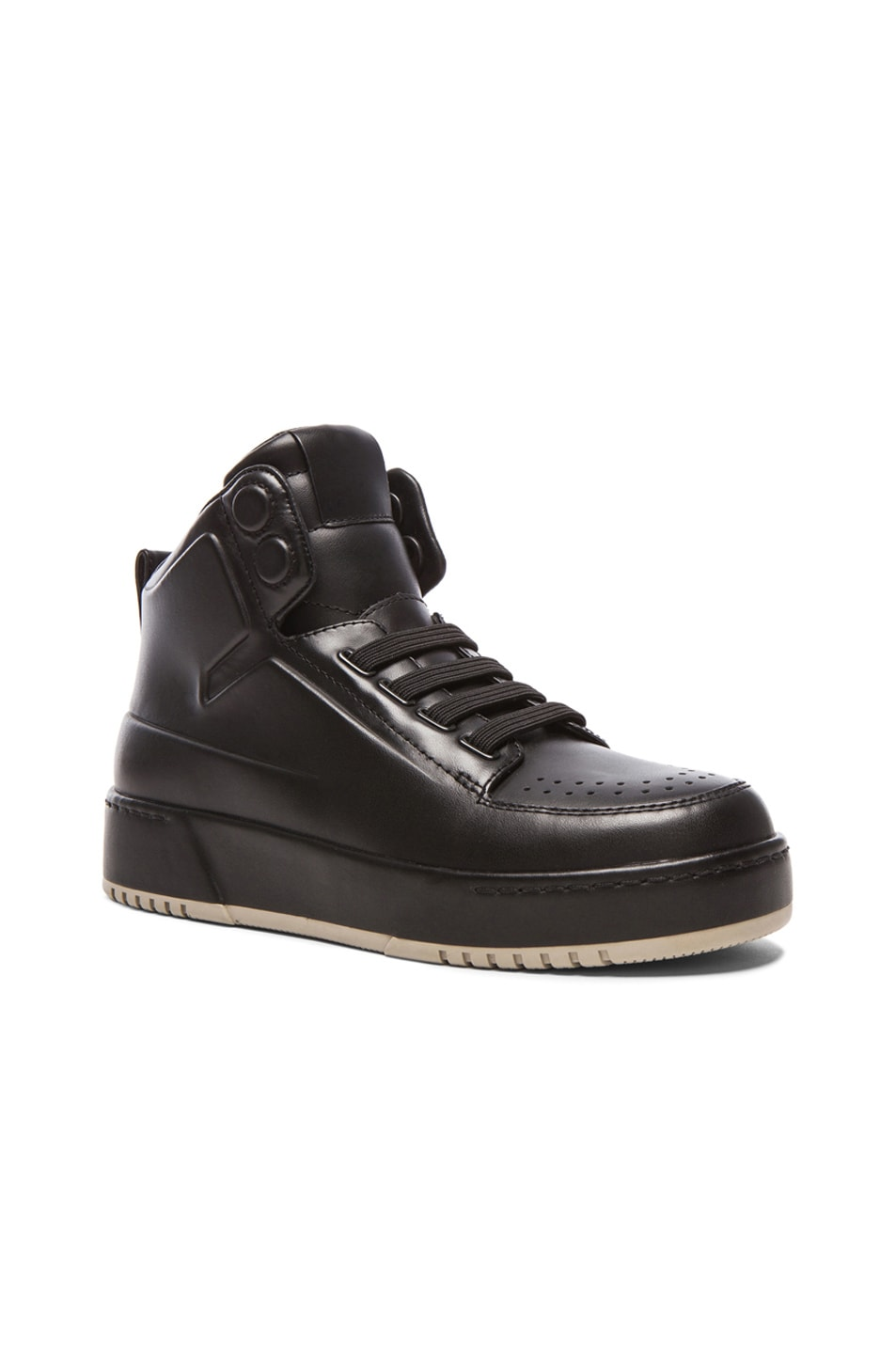 3 1 Phillip Lim Black PL31 Sneakers
