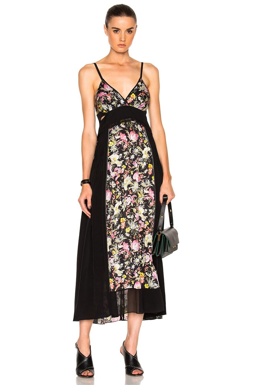 9c39f6d3718165 Image 1 of 3.1 phillip lim Meadow Flower Maxi Dress in Black Multi