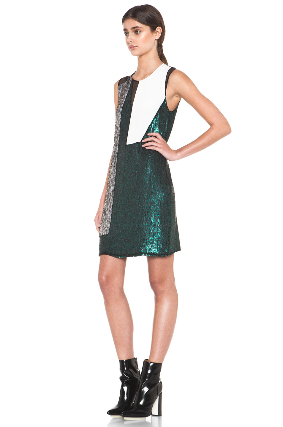 Image 2 of 3.1 phillip lim Collage Dress in Emerald