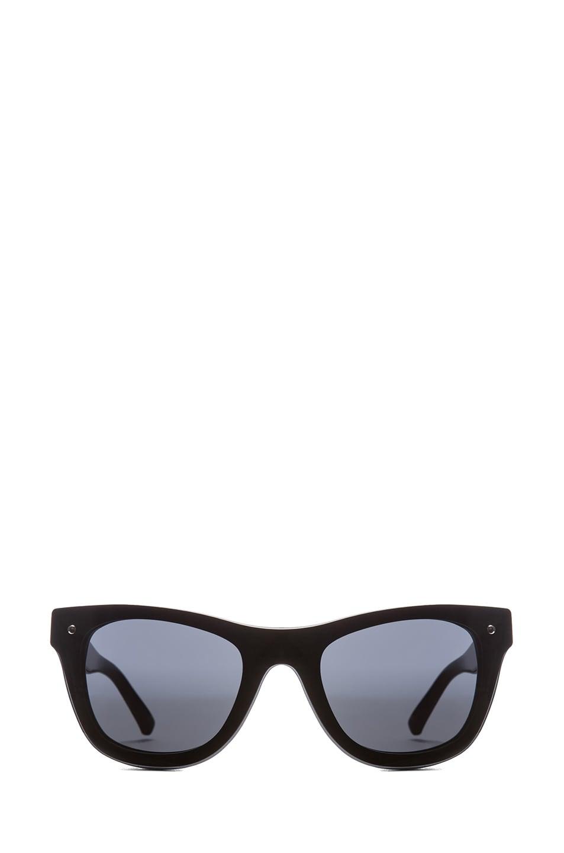 Image 1 of 3.1 phillip lim Wayfarer Sunglasses in Black