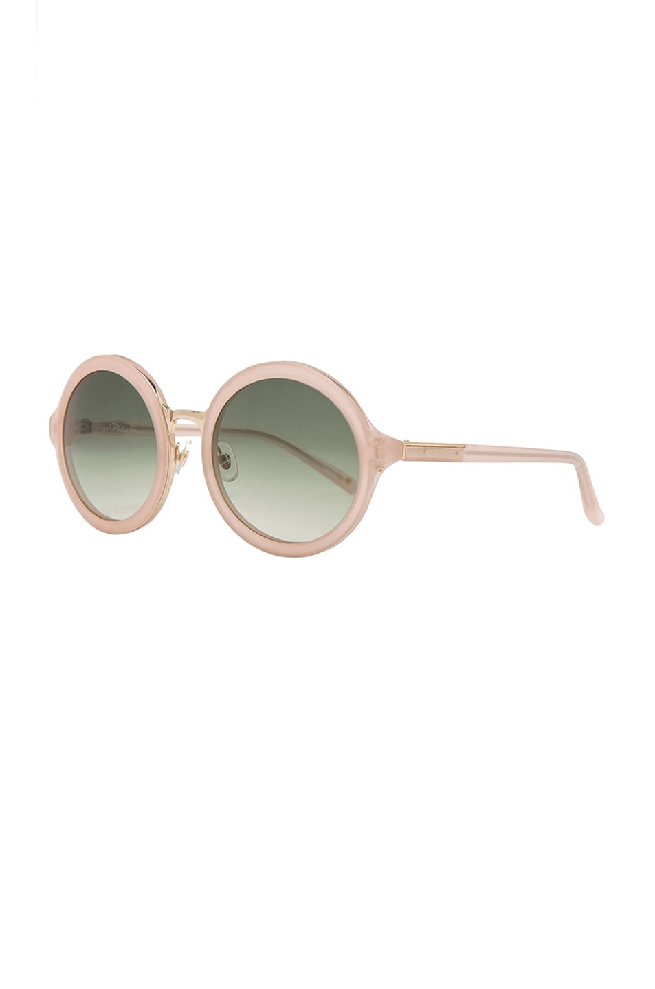 Image 2 of 3.1 phillip lim Circle Sunglasses in Frosted Salmon