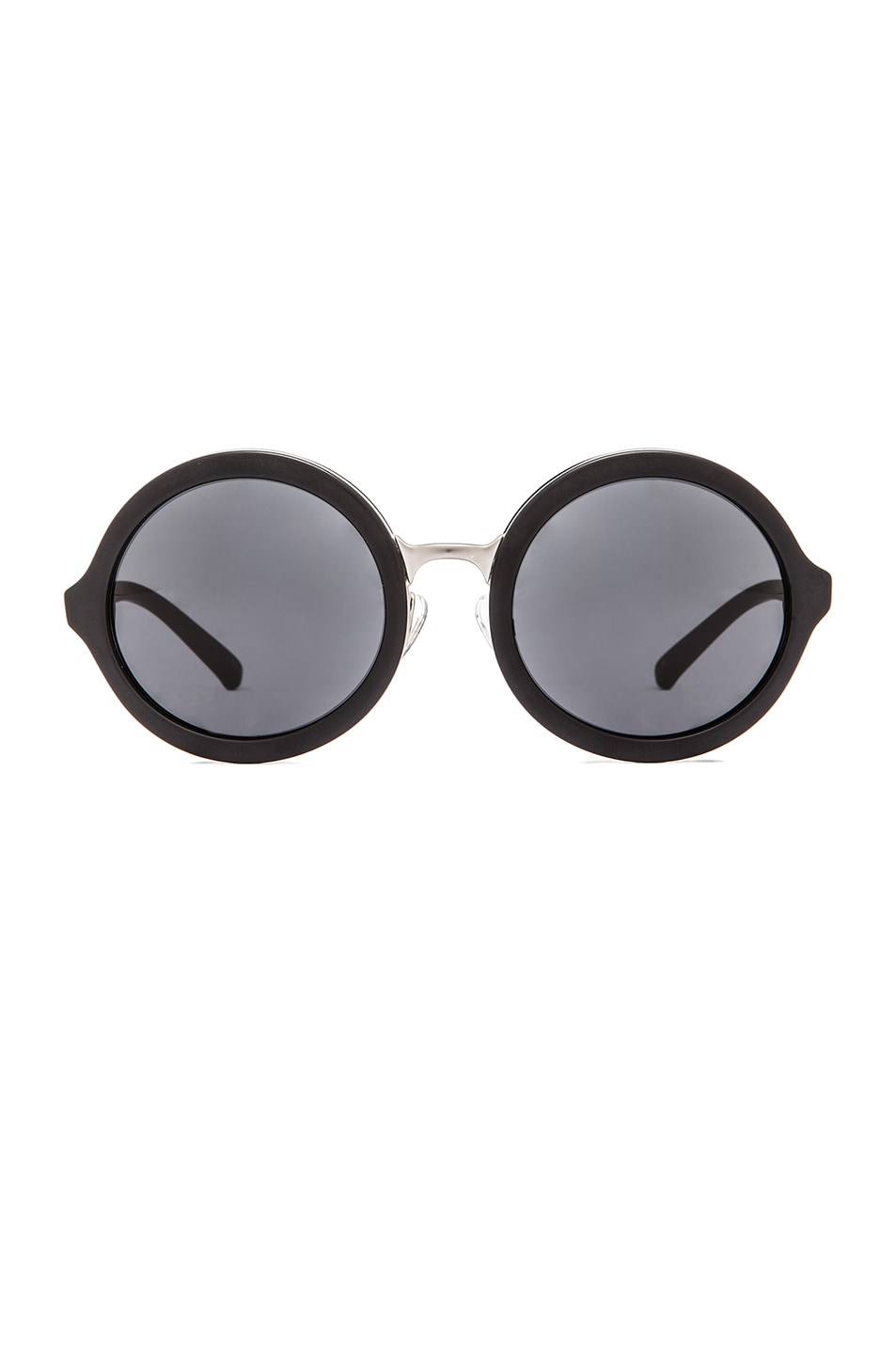 Image 1 of 3.1 phillip lim Circle Sunglasses in Frosted Black