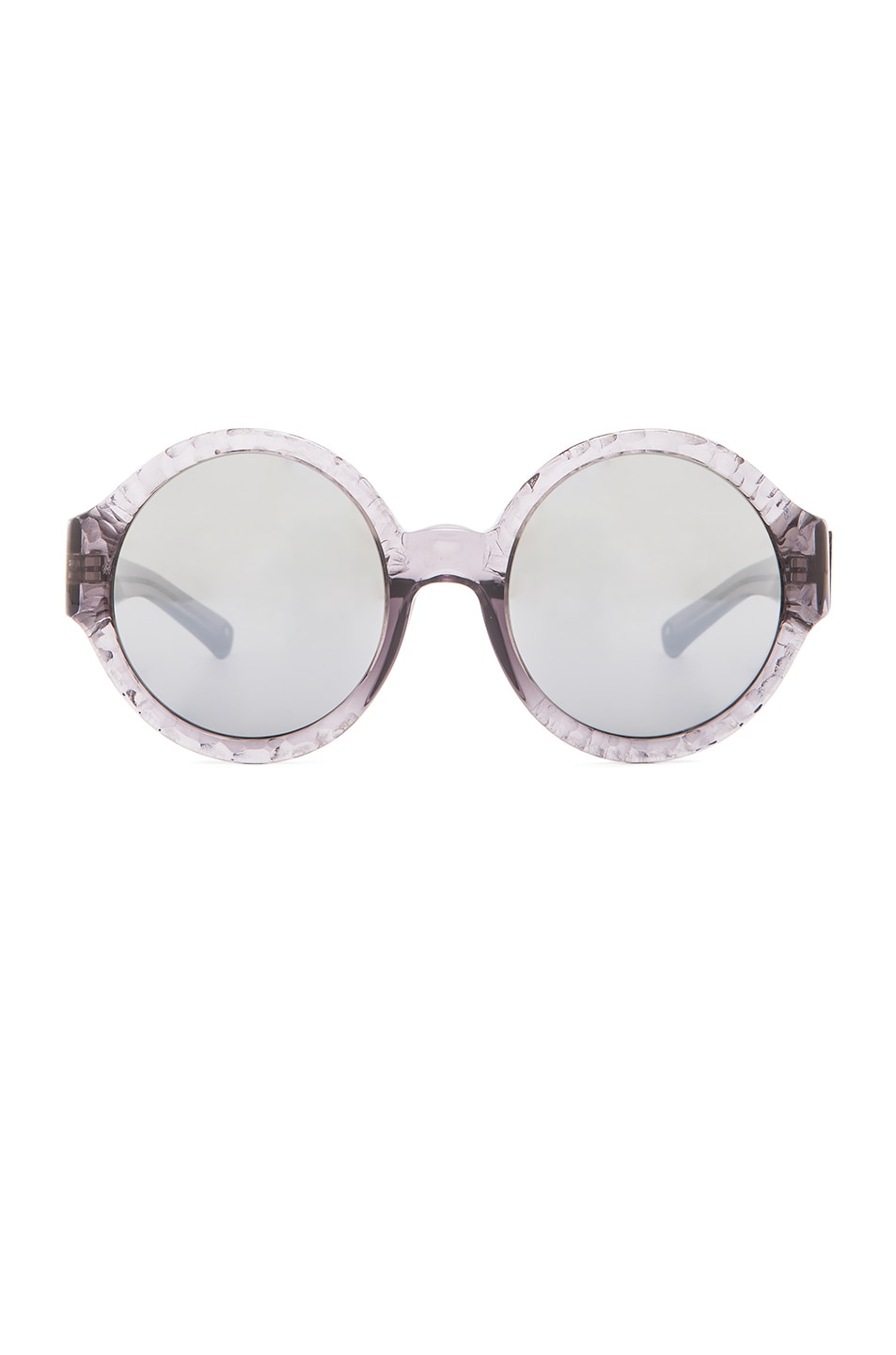 Image 1 of 3.1 phillip lim Carved Circle Sunglasses in Grey
