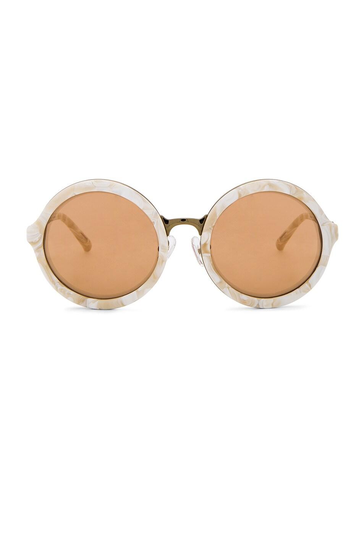 Image 1 of 3.1 phillip lim Circle Sunglasses in Cream Pearl
