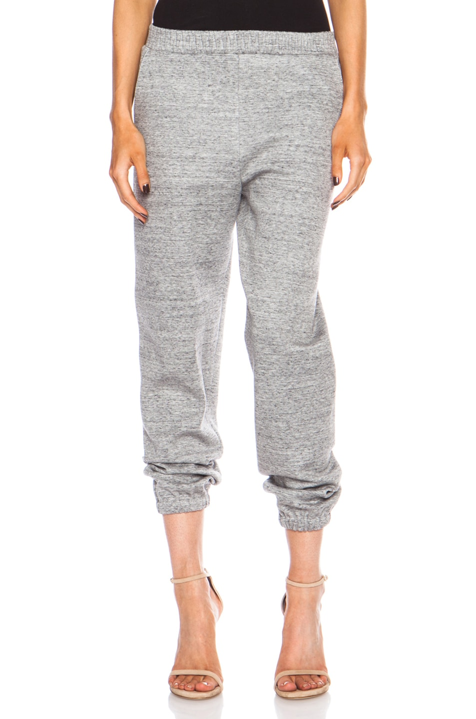Image 1 of 3.1 phillip lim Cotton-Blend Sweatpant in Charcoal