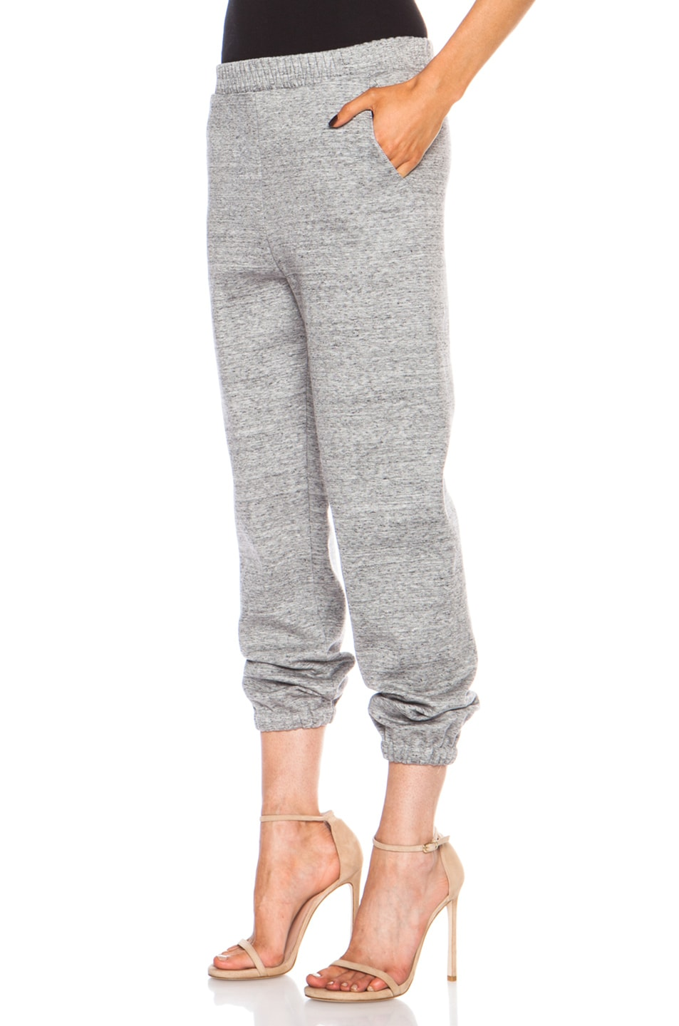 Image 2 of 3.1 phillip lim Cotton-Blend Sweatpant in Charcoal