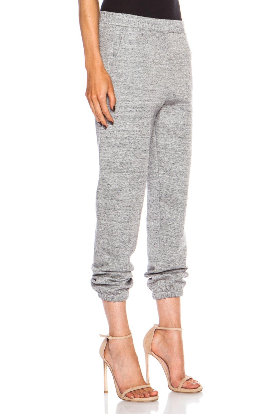 Image 3 of 3.1 phillip lim Cotton-Blend Sweatpant in Charcoal