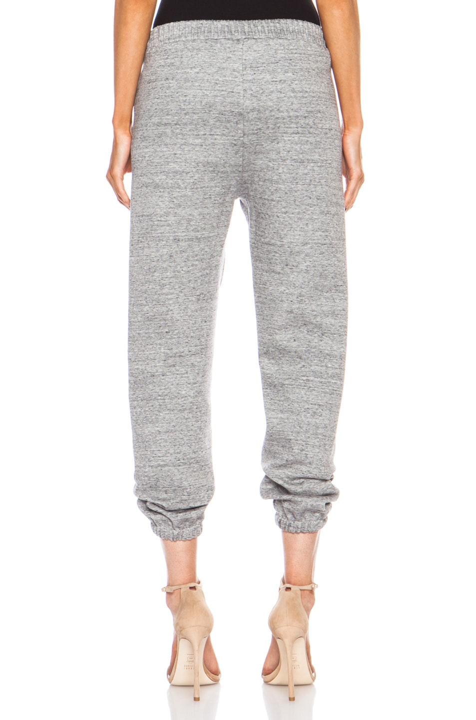 Image 4 of 3.1 phillip lim Cotton-Blend Sweatpant in Charcoal