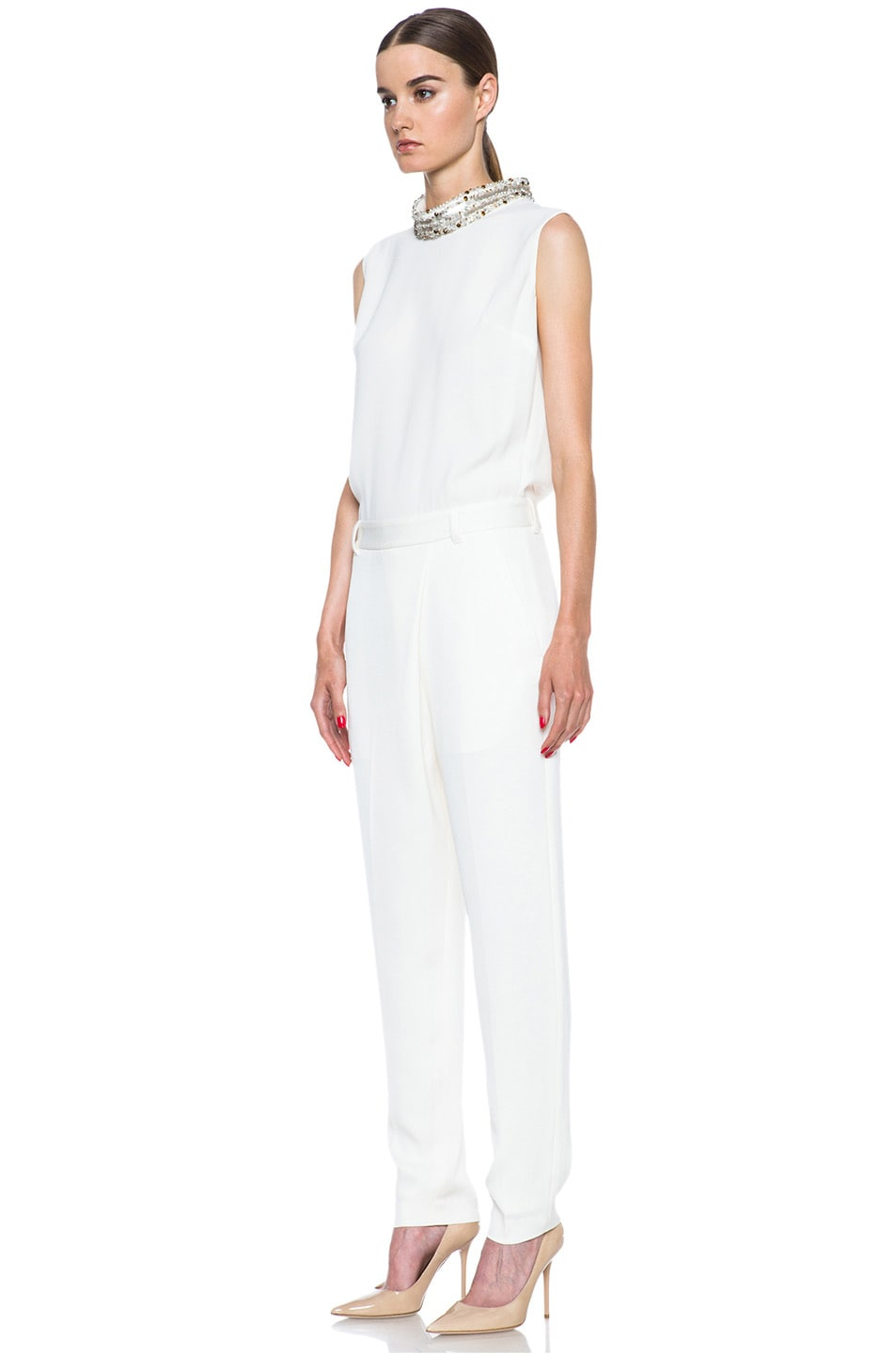 Image 2 of 3.1 phillip lim Acetate-Blend Jumpsuit in Ivory
