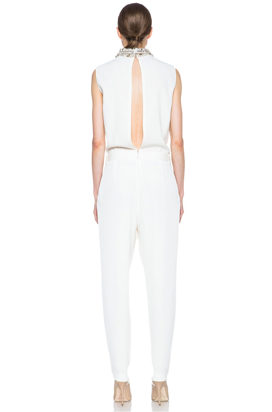 Image 4 of 3.1 phillip lim Acetate-Blend Jumpsuit in Ivory