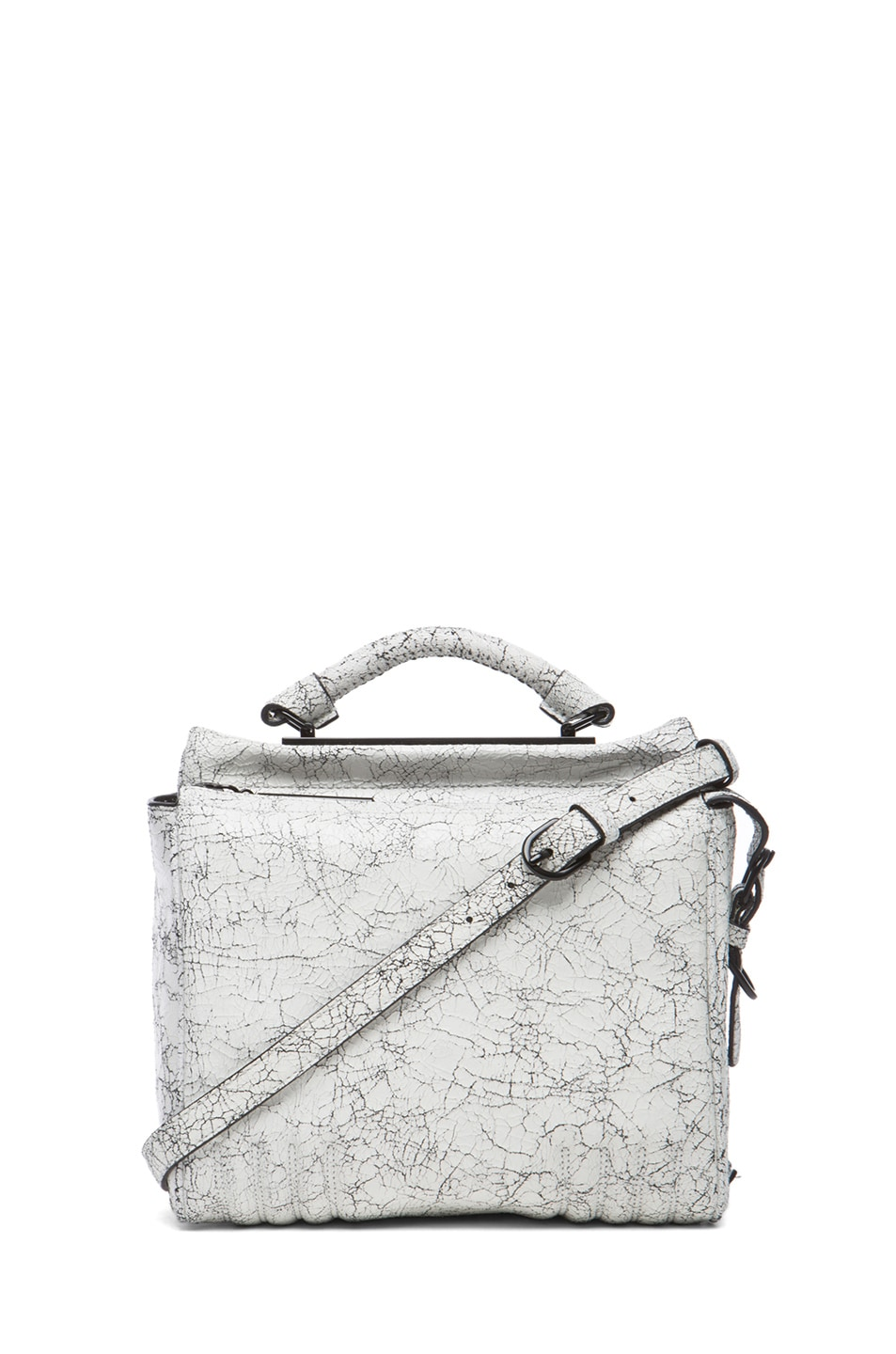 Image 1 of 3.1 phillip lim Small Ryder Satchel in Black & White