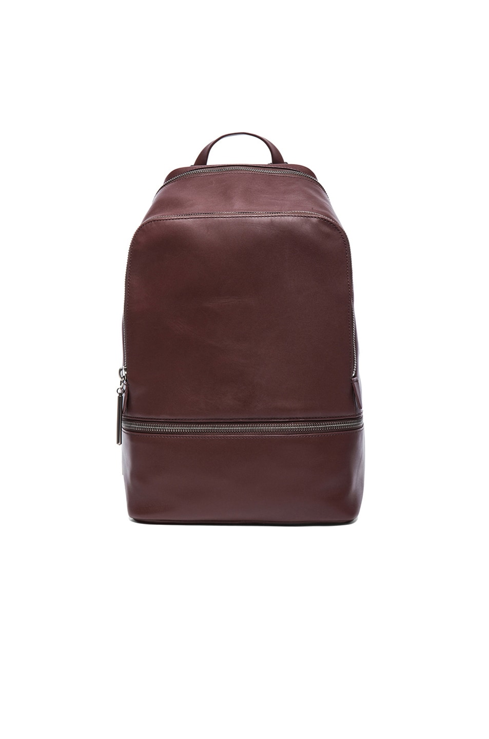 Image 1 of 3.1 phillip lim 31 Hour Zip Around Backpack in Mahogany & Gunmetal