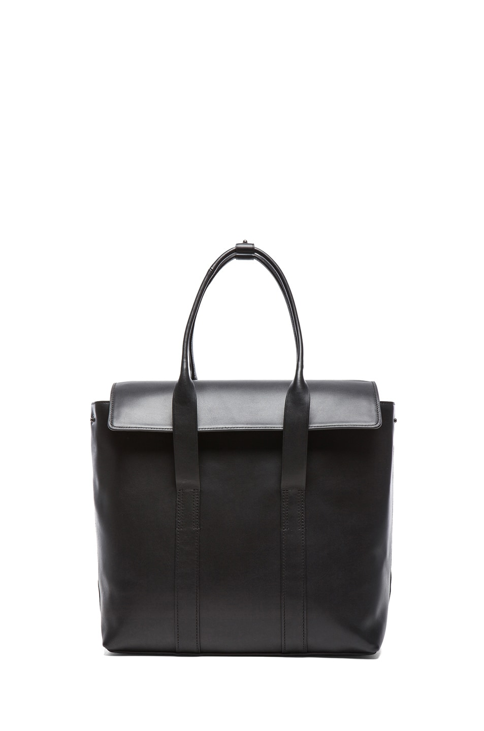 Image 1 of 3.1 phillip lim Medium 31 Hour Satchel in Black & Gunmetal