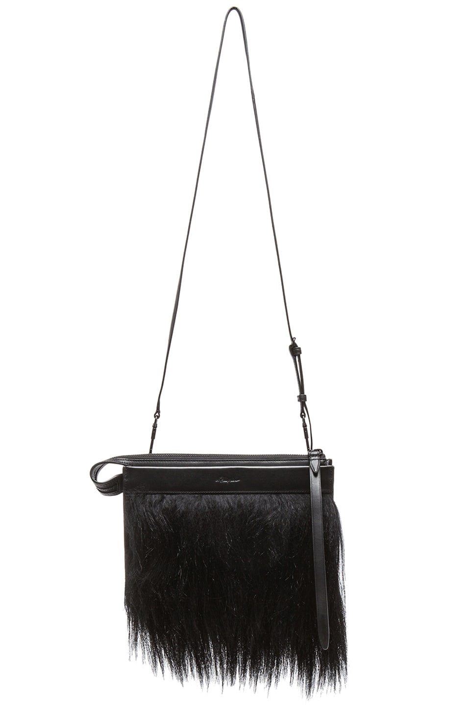 12799c8f9789 Image 1 of 3.1 phillip lim Small East West Depeche Clutch in Black