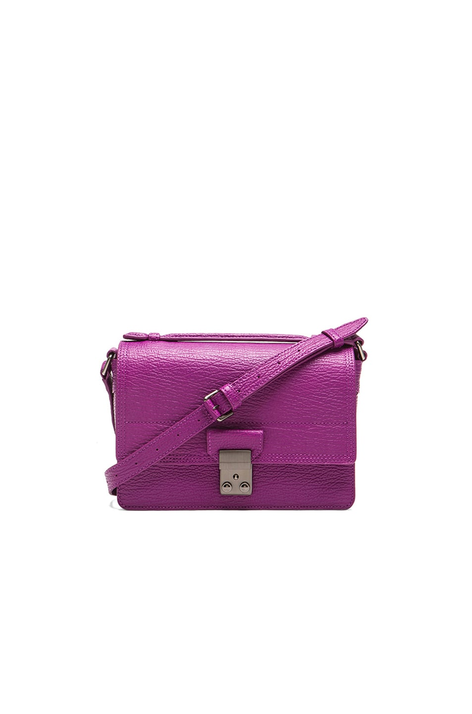 Image 1 of 3.1 phillip lim Mini Pashli Messenger in Orchid & Gunmetal