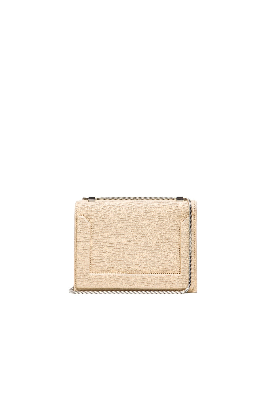0b0ea767ca7 Image 1 of 3.1 phillip lim Mini Soleil Chain Shoulder Bag in Nougat   Nickel