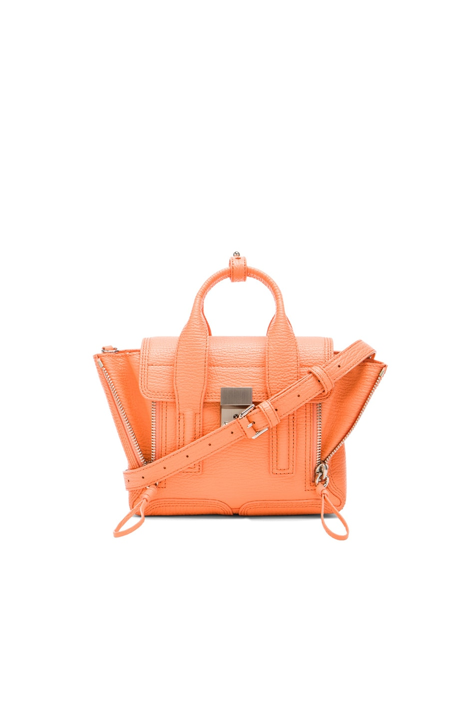 Image 1 of 3.1 phillip lim Mini Pashli Satchel in Melon