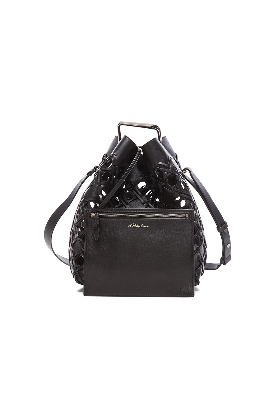 ce4754a206f4 Image 7 of 3.1 phillip lim Quill Bucket Bag in Black